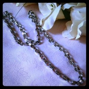 Vintage Oversize Cable Link Chain Necklace